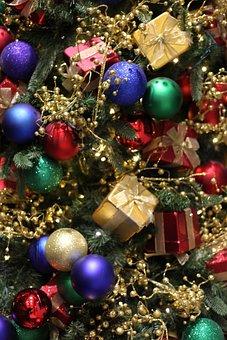 Christmas, Ornaments, Christmas Tree, Christmas Baubles