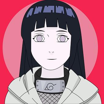 Hinata, Character, Anime, Girl, Woman, Female