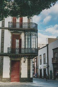 Vegueta, Stained Glass Window, Las Palmas, Gran Canaria