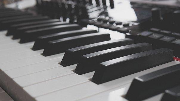 Piano, Keyboard, Piano Keys, Keys, Music, Instrument