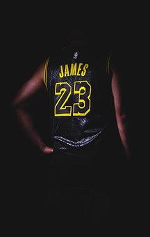 Jersey, Basketball, James, Lebron James, Player, Sport
