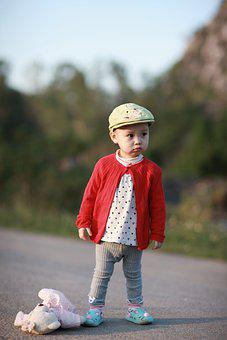 Toddler, Outdoors, Portrait, Kid, Child, Baby, Cute
