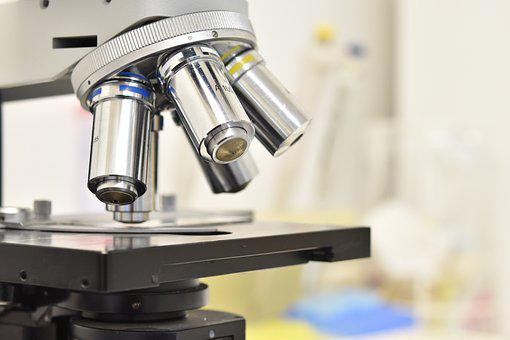 Microscope, Laboratory, Research, Lab, Objective Lens