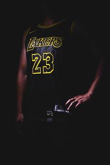 Jersey, Basketball, Lakers, Lebron James, James, Player