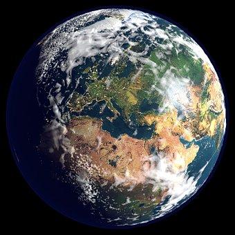 Earth, Globe, Planet, Space, World, Universe