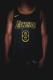 Jersey, Player, Basketball, Nba, Kobe Bryant, Sports