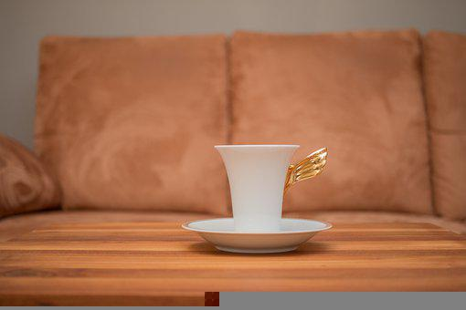 Cup, Coffee, Table, Drink, Beverage, Coffee Cup