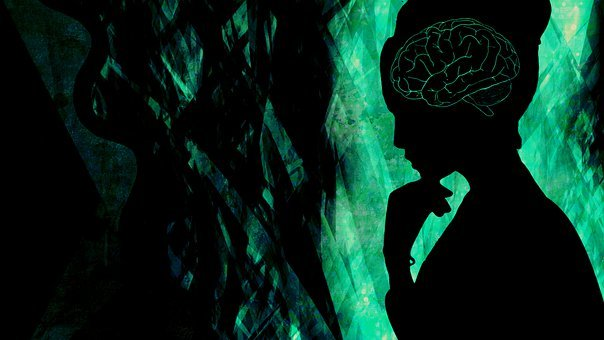 Woman, Brain, Wallpaper, Mind, Thinking, Pensive