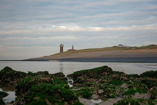 Sea, Coast, Guardhouse, Ocean, Coastline, Shoreline