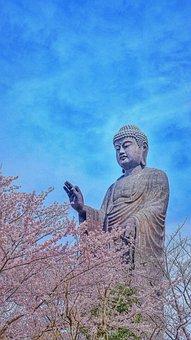 Buddha, Ushiku Daibutsu, Japan, Ibaraki, Statue