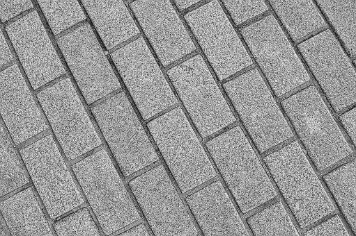 Pavement, Asphalt, Concrete, Sidewalk
