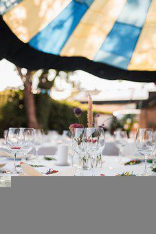 Party, Table, Celebration, Round Table, Table Setting