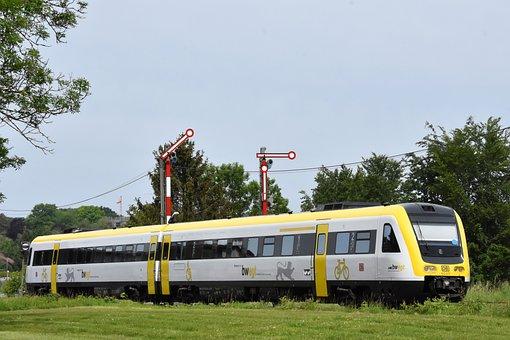 Railcar, Railway, Transportation, Transport, Train