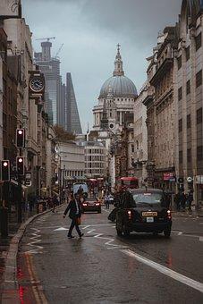 Road, Traffic, City, Pedestrian, Cars, Vehicles