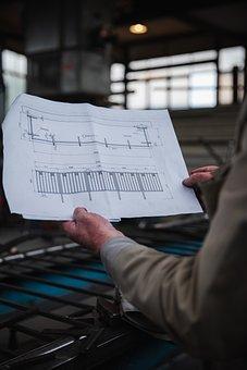 Plan, Workshop, Factory, Workplace, Metal Work