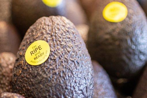 Avocado, Fruit, Ripe, Produce, Food, Healthy, Vitamins