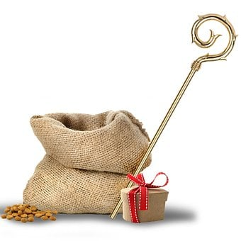 Bag, Gift, Box, Bow, Nuts, Saint Nicholas, Party