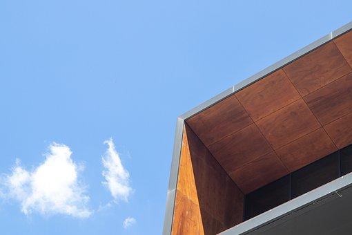 Building, Roof, Wood, Steel, Urban, Facade, Modern