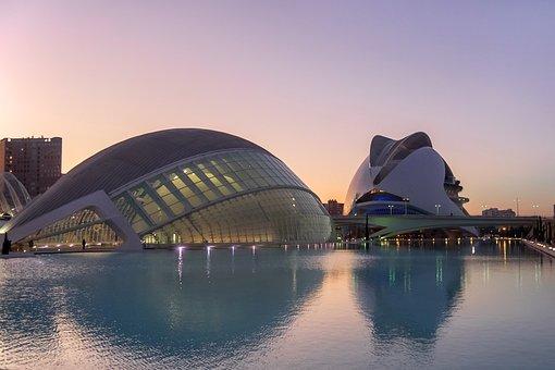 Architecture, Buildings, Pond, Facade, Exterior