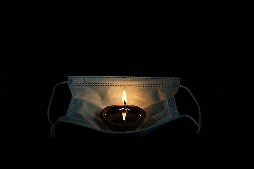 Candle, Face Mask, Flame, Mask, Lamp, Diewali
