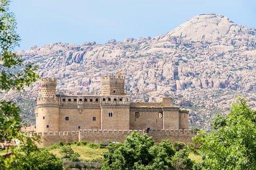 Castle, Mountains, Architecture, Citadel, Fort