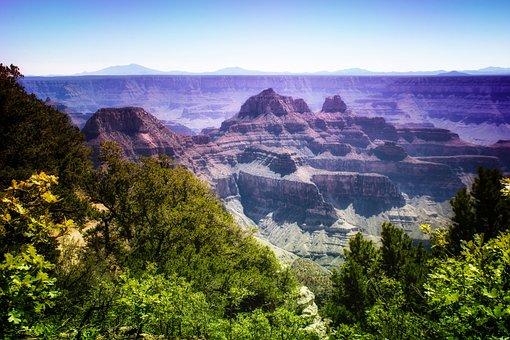 Grand Canyon, National Park, Arizona, Landscape, Canyon