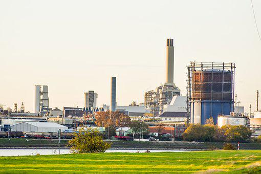 Industry, Factory, Industrial Plant, Buildings