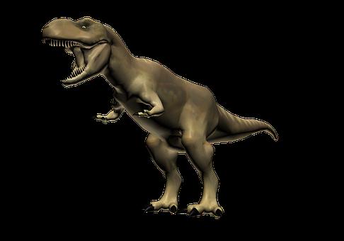 Tyrannosaurus Rex, T-rex, Dinosaur, 3d Model