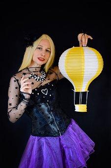 Circus, Big Top, Fortune Teller, Actress, Corset