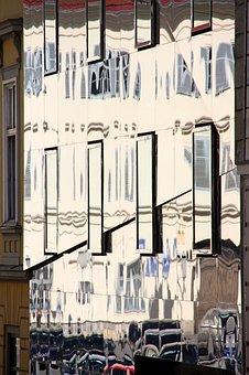 Building, Facade, Mirror, Reflection, Architecture