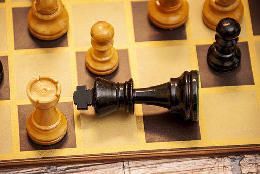 Check Mate, Chess, Board, Chess Board, King, Pawns