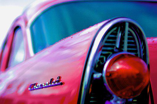 Car, Vehicle, Chevy, Chevrolet, Ford, Classic, 57 Chevy