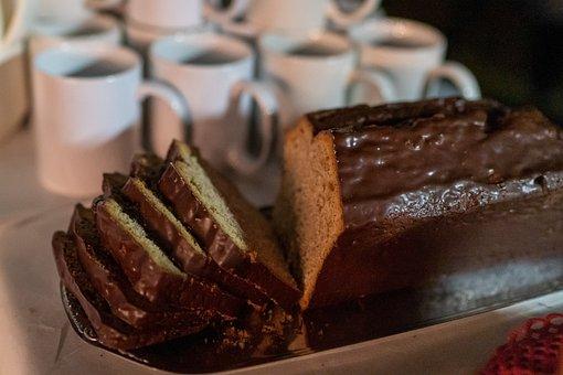 Kuchen, Dessert, Bread, Slice, Coffee Cup, Sweet