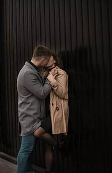 Man, Woman, Kiss, Kissing, Couple, Together, Pair