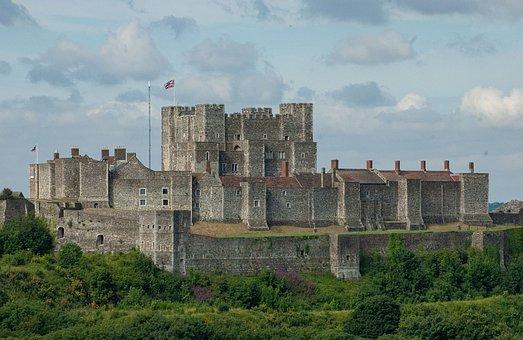 Dover Castle, England, Castle, Citadel, Fort, Fortress