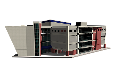 Architecture, Building, Hospital, Community Center