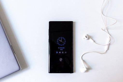 Phone, Earphones, Technology, Smartphone, Screen