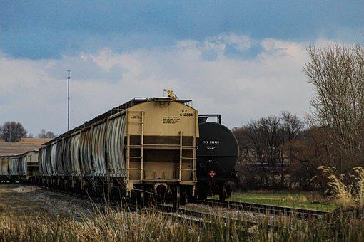 Train, Railway, Train Tracks, Railroad, Transportation