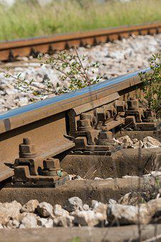 Railway, Tracks, Gravel, Steel, Train Tracks