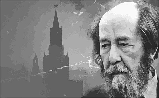 Man, Writer, Literature, Solzhenitsyn, Famous