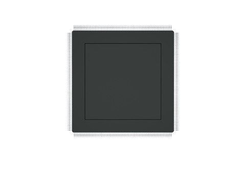Microchip, Chip, Motherboard, Processor, Computer