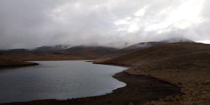 Landscapes, Cold, Winter, Lake