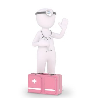 Doctor, First Aid, Stethoscope, Doctor Bags, Medic