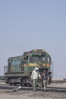 Iran, Railway, Railroad, Locomotive, Rail, Machine