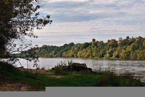 River, Monument, Fortress, Fortress Of Modlin