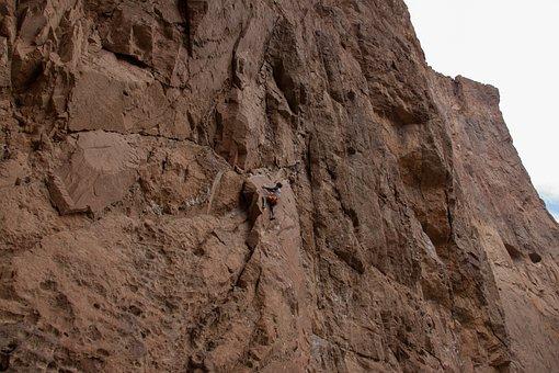 Climbing, Sport, Canyon, Nature, Outdoor, Piedra Parada