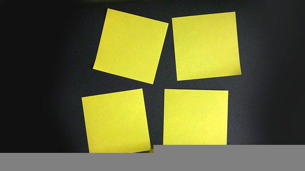 Post-its, Notes, Sticky Notes, Reminders, Circuit