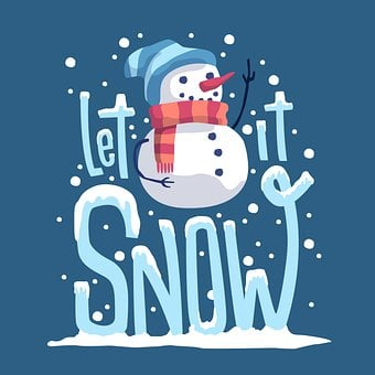 Snowman, Snow, Christmas, Wallpaper, Winter, Snow Fall