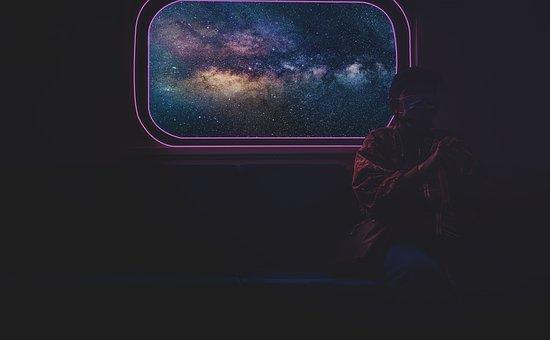 Train, Space, Universe, Travel, Astronomy, Sky, Galaxy