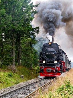 Train, Locomotive, Hsb, Harz Narrow-gauge Railway